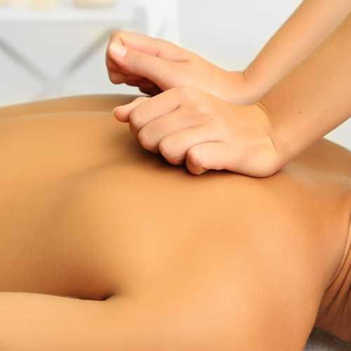 Back Neck and Shoulder Massage photo