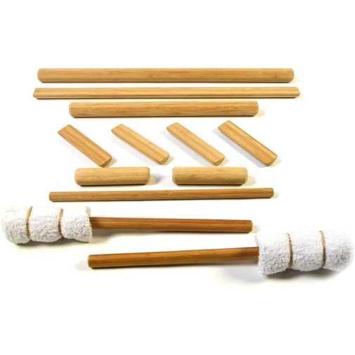 Warmed Bamboo Cane Massage photo
